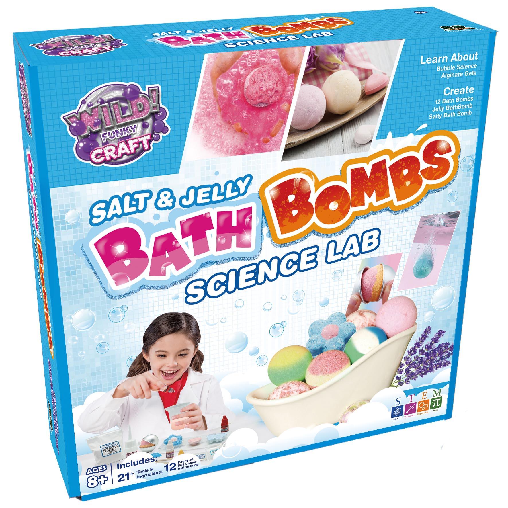 Salt & Jelly Bath Bombs Lab