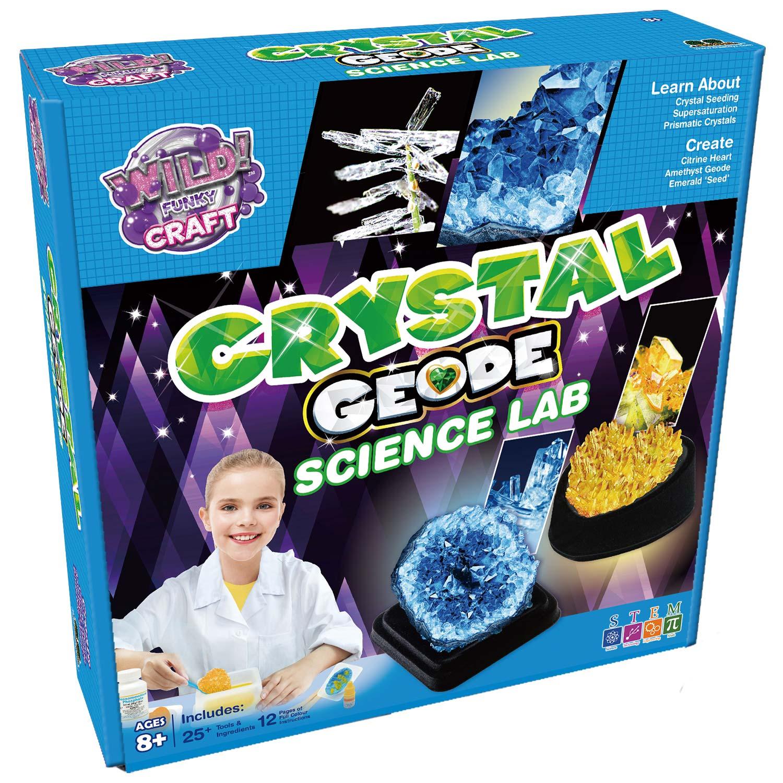 Crystal Geode Science Lab