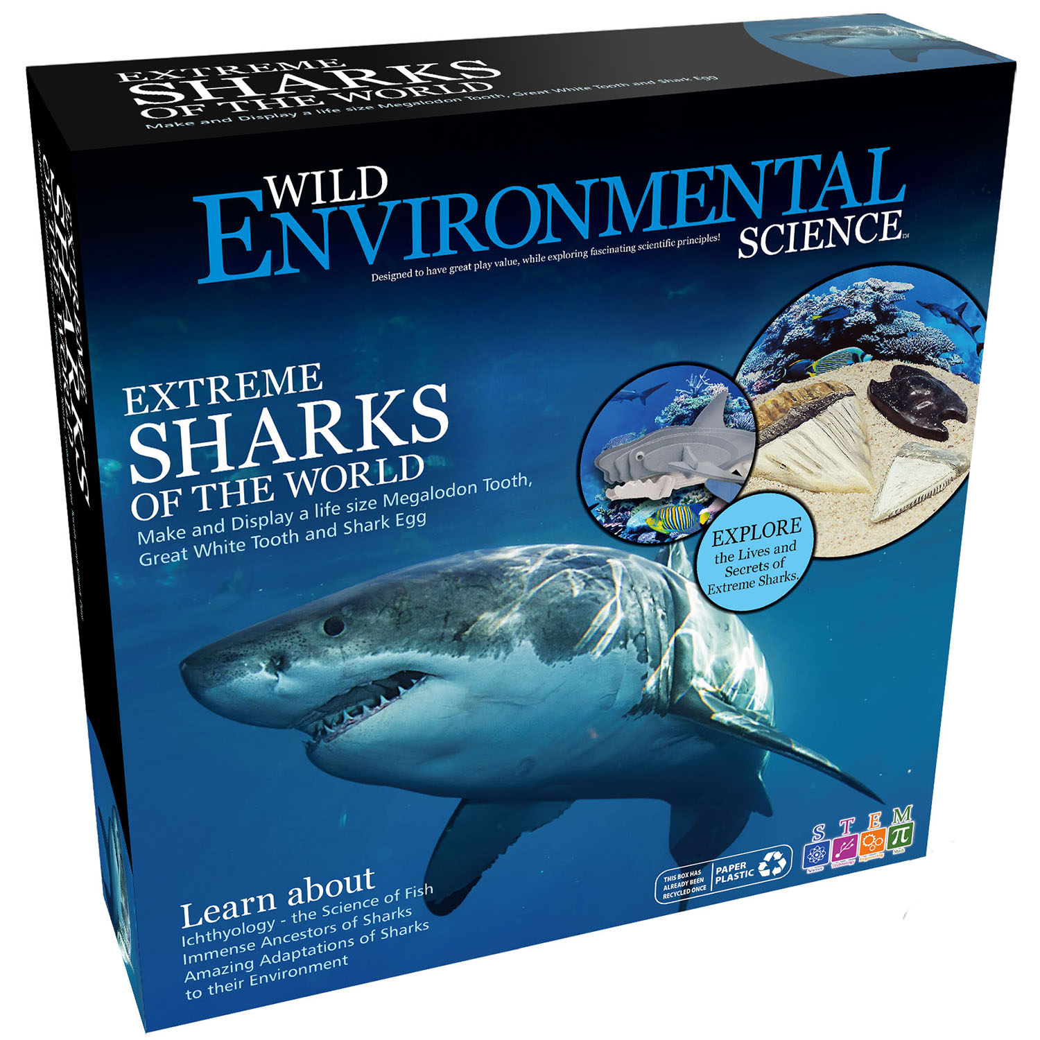 Extreme Sharks of the World